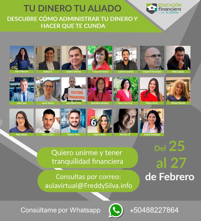 Educacion Financiera Freddy Silva