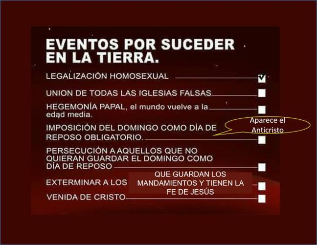 agenda de Dios