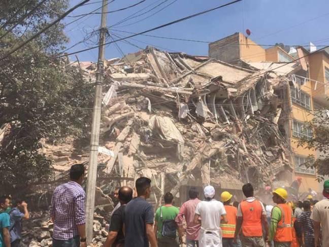 Terremoto Mexico 6 Ley Dominical